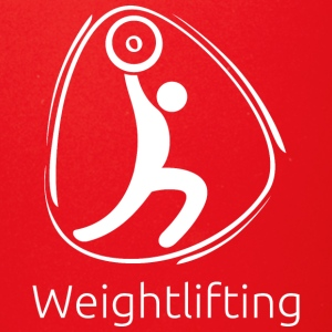 Weightlifting_white - Full Color Mug