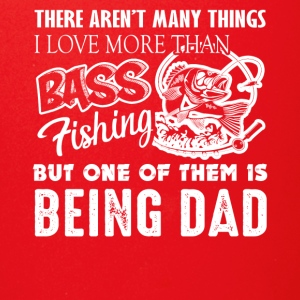 Bass Fishing Dad Tee Shirt - Full Color Mug