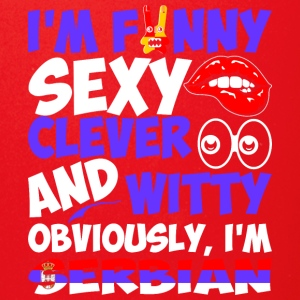 Im Funny Sexy Clever And Witty Im Serbian - Full Color Mug