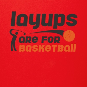 Layups are for basketball Funny Golf Tee Shirt - Full Color Mug