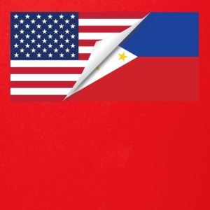 Half American Half Filipino Flag - Full Color Mug