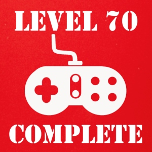 Level 70 Complete 70th Birthday - Full Color Mug