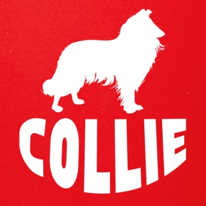 Collie Silhouette - Full Color Mug