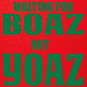 Waiting for Boaz Not Yoaz - Full Color Mug