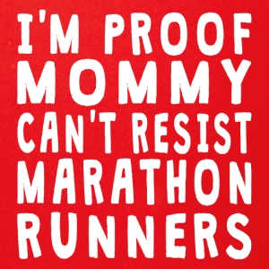 Proof Mommy Can't Resist Marathon Runners - Full Color Mug