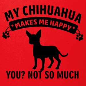 My Chihuahua makes me happy - Full Color Mug