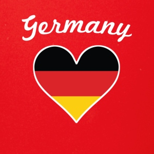Germany Flag Heart - Full Color Mug
