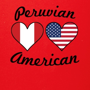 Peruvian American Flag Hearts - Full Color Mug
