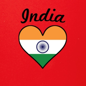 India Flag Heart - Full Color Mug