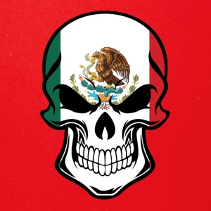 Mexican Flag Skull - Full Color Mug