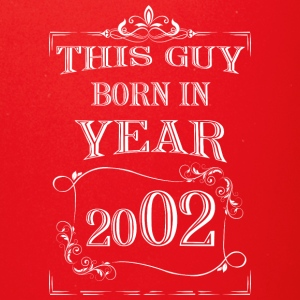 this guy born in year 2002 white - Full Color Mug