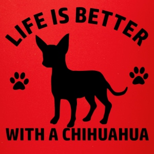 chihuahua design - Full Color Mug