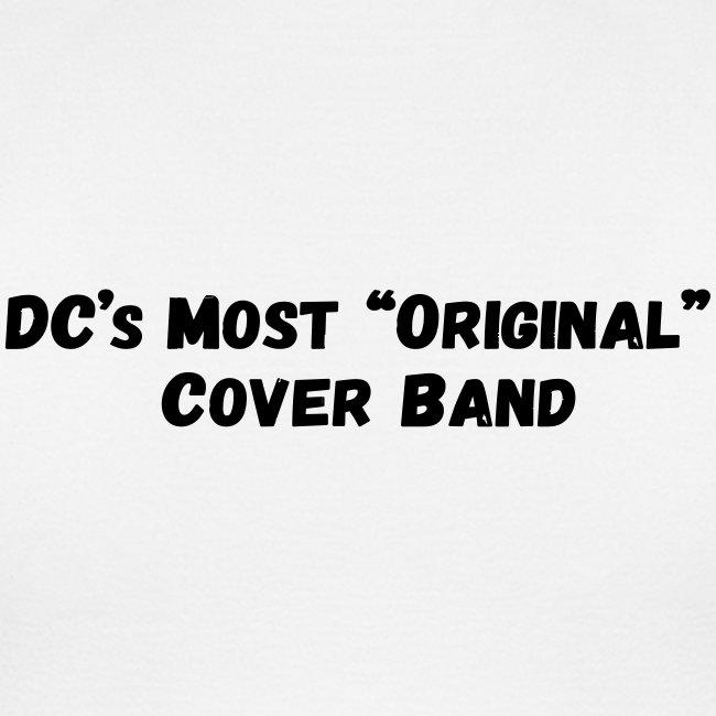 Band Logo - Black - Front and Back