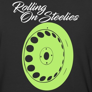 rollingonsteelies by GusiStyle - Baseball T-Shirt
