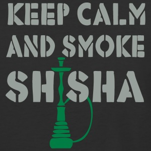 KEEP CALM AND SMOKE SHISHA! - Baseball T-Shirt