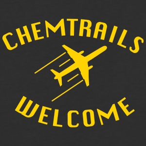 Chemtrails Welcome - Conspiracy Shirt for Pilots - Baseball T-Shirt