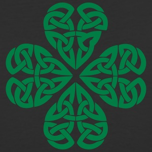 Celtic Shamrock Green 01 - Baseball T-Shirt
