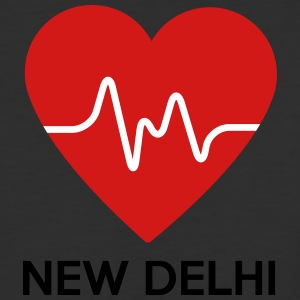 Heart New Delhi - Baseball T-Shirt