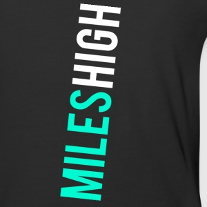 MILES HIGH #1 - Baseball T-Shirt