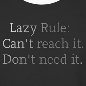 Lazy rule. - Baseball T-Shirt