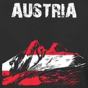 Nation-Design Austria Grossglockner - Baseball T-Shirt