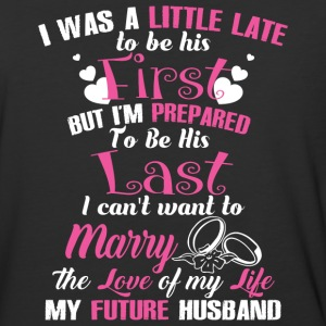 The Love Of My Life My Future Husband T Shirt - Baseball T-Shirt