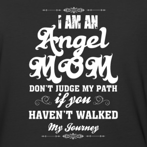 I Am An Angel Mom T Shirt - Baseball T-Shirt
