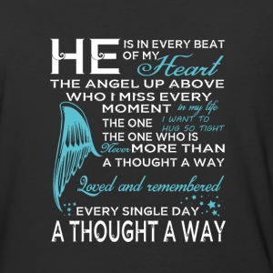He Is In Every Beat Of My Heart T Shirt - Baseball T-Shirt