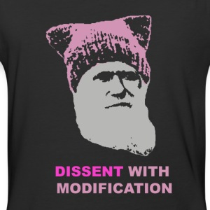 Dissent with modification - dark - Baseball T-Shirt
