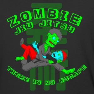 Zombie Jiu Jitsu there is no escape - Baseball T-Shirt