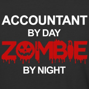 Accountant By Day Zombie By Night T Shirt - Baseball T-Shirt