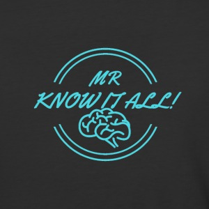 MR KNOWITALL - Baseball T-Shirt