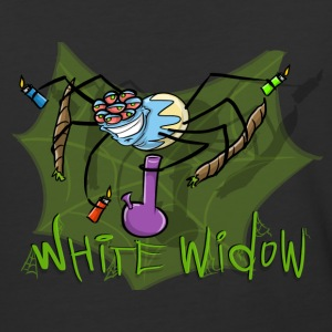 White Widow - Baseball T-Shirt
