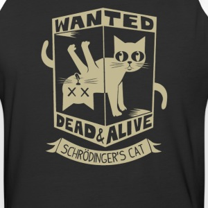 Wanted dead and alive Schrodinger-s Cat - Baseball T-Shirt