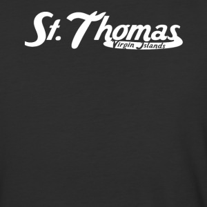 St. Thomas Virgin Islands Vintage Logo - Baseball T-Shirt
