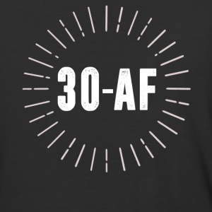 30 AF Shirt - 30th Birthday Shirt - Baseball T-Shirt