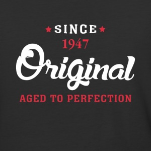 Since 1947 Original Aged To Perfection - Baseball T-Shirt