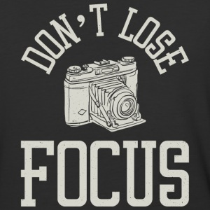 Don't Lose Focus - Funny Photography tops - Baseball T-Shirt