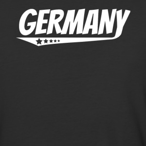 Germany Retro Comic Book Style Logo German - Baseball T-Shirt