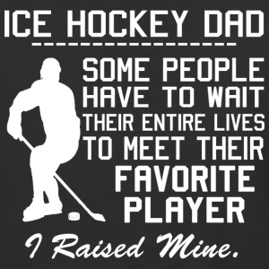 ICE HOCKEY DAD - Baseball T-Shirt