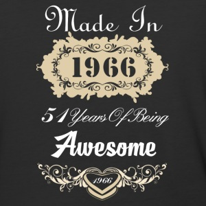 Made in 1966 51 years of being awesome - Baseball T-Shirt