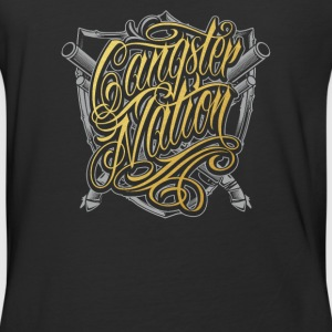 Gangster nation - Baseball T-Shirt
