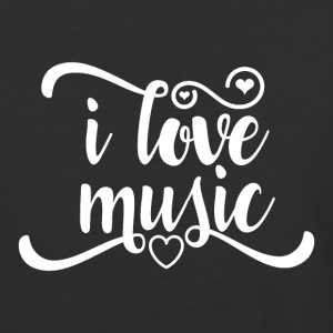 Love Music - Baseball T-Shirt