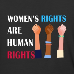 Women's rights are human rights - Baseball T-Shirt