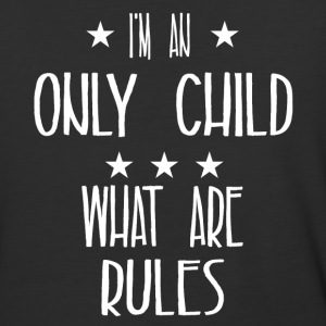 I'm an only child what are rules - Baseball T-Shirt