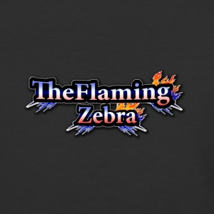 BIG TheFlamingZebra Logo - Baseball T-Shirt
