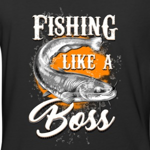 Fishing like a BOSS - Baseball T-Shirt