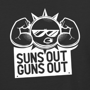 Suns Out Guns Out - Baseball T-Shirt