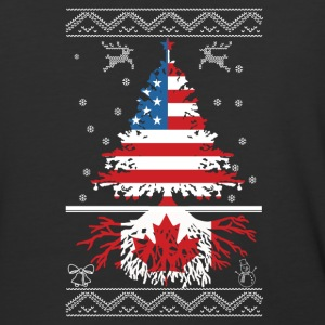 American with Canadian root - Baseball T-Shirt