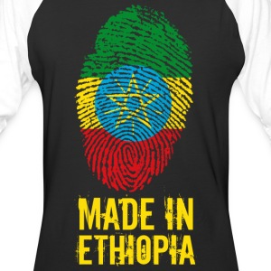 Made In Ethiopia / ኢትዮጵያ - Baseball T-Shirt